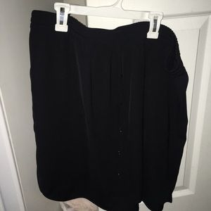 Black skirt x large